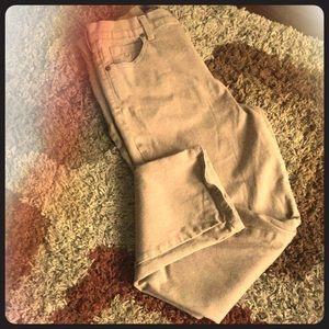 Kohl's Straight Leg Khaki Jeans